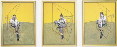 Um estudo de Lucian Freud, de Francis Bacon