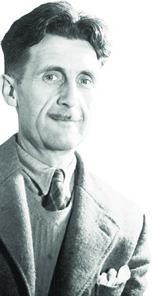 """George Orwell, autor de """"1984"""", espécie de tratado sobre viabilidade do conhecimento histórico"""