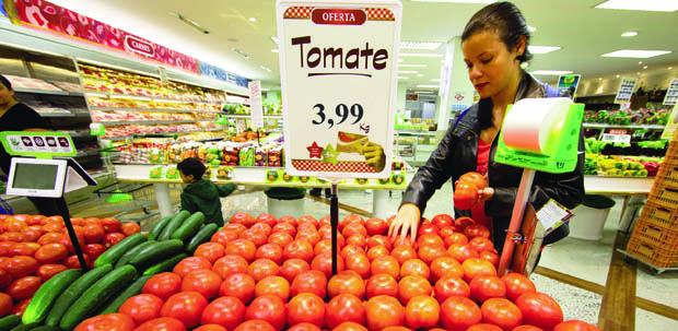 Inflação de alimentos assusta  o governo: mudar o método de calcular não resolve o problema / Foto: Andre Porto - Assessoria Anteffa