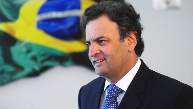 Aécio Neves: pressão em defesa do DEM | Foto: Reprodução/Veja