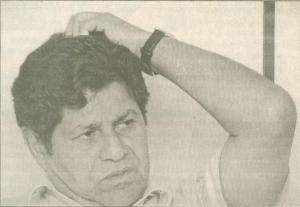 Antônio Duarte dos Santos concede entrevista ao repórter Euler de França Belém, na redação do Jornal Opção