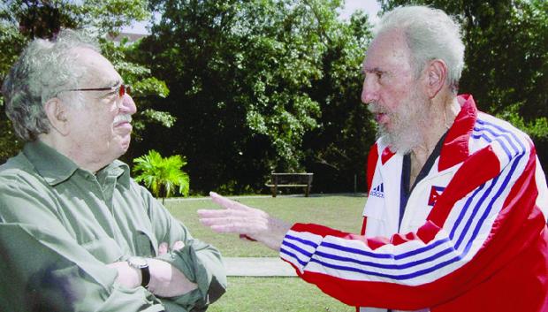 A amizade com Fidel Castro amordaçou o poder da crítica. García Márquez foi chamado de lacaio do ditador cubano | Foto:  El Tiempo