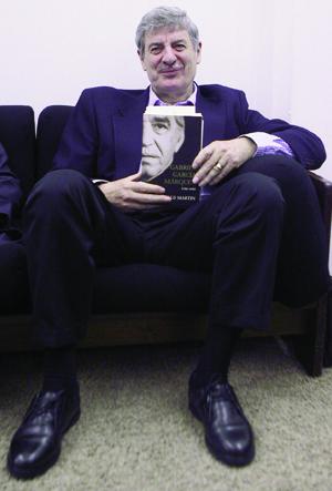 Gerald Martin, autor do mais importante estudo sobre a vida e a obra de Gabriel García Márquez | Foto: Mario Guzm'n