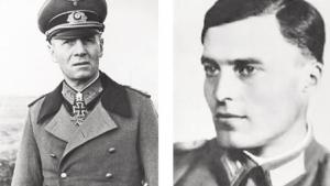 Erwin Rommel e Claus von Stauffenberg: eles conspiraram contra Hitler / Fotos: Wikipédia Commons