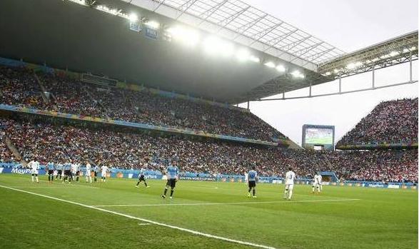 Partida entre Uruguai e Inglaterra: torcedores esperavam em um bar para assistir o jogo quando confusão começou | Foto: Divulgação
