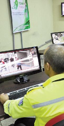 Monitoramento no combate ao crime