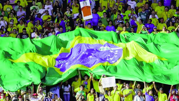 A satisfação dos brasileiros com a Copa do Mundo beneficia a presidente Dilma Rousseff nas pesquisas   Foto: Vipcomm
