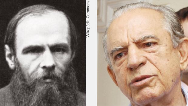É  pouco provável que o escritor russo Fiódor Dostoiévski tenha imaginado que sua personagem se atrelaria à figura de Iris Rezende