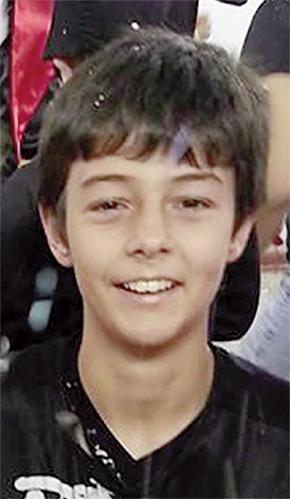 Bernardo Boldrin, 11 anos, foi morto por injeção letal e teve o corpo enterrado perto de um rio   Foto: Reprodução