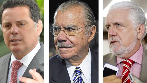 Marconi Perillo, José Sarney e Jacques Wagner: aumento da criminalidade em Goiás, Maranhão e Bahia mostra que a criminalidade é um problema nacional que não escolhe partido nos Estados