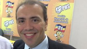 Eduardo Machado, presidente do PHS nacional | Foto: Fernando Leite/Jornal Opção