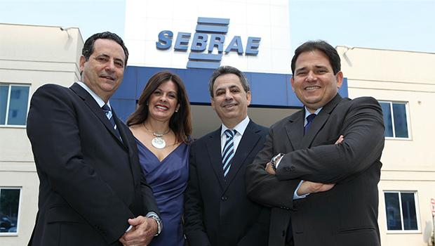 Wanderson Portugal, Luciana Albernaz, Manoel Xavier e Marcelo Baiocchi: o Sebrae com o pequeno empreendedor | Edmar Wellington/Sebrae