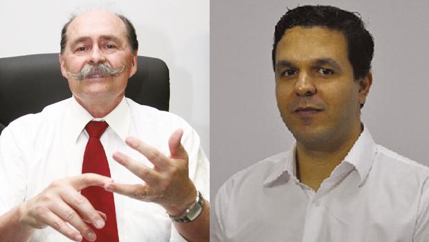 Salomão Rodrigues (à esq.) é um dos psiquiatras que acreditam ter havido falhas no tratamento de Cadu. Sérgio Nunes (à dir.), por outro lado, defende que o tratamento foi correto |Foto: (direita) Fernando Leite/Jornal Opção