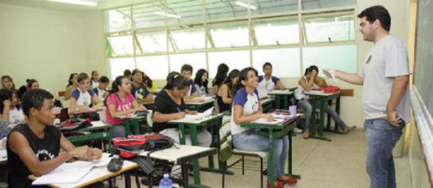 Nota da rede estadual de ensino cresceu de 3,6 para 3,8 / Fernando Leite/Jornal Opção