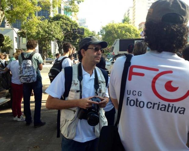 Concentração da edição 2013 da Deriva Fotográfica do Bem. Foram tiradas mais de 400 fotografias | Foto: Divulgação