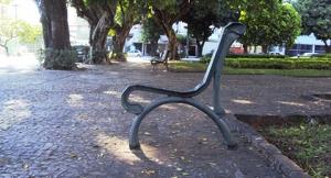 Registro feito pela professora Sandra Pantaleão, na Praça Cívica