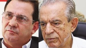 Vanderlan Cardoso (direita): 3ª via? Iris Rezende: sem conseguir a união que tornaria possível a vitória