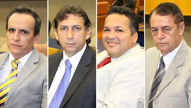 Integrantes do bloco moderado vão indicar nome para a disputa |Fotos: Reprodução/Câmara de Goiânia