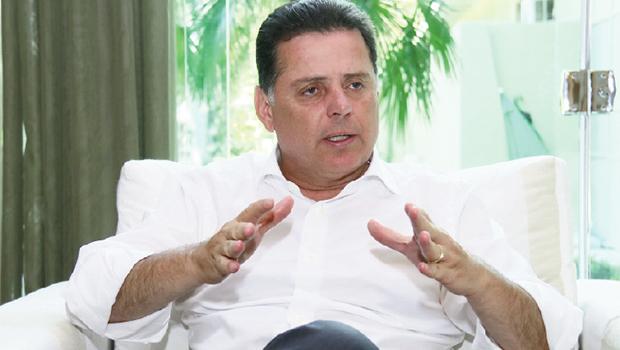 Governador Marconi Perillo: nunca perdeu uma eleição desde que se elegeu deputado estadual, em 1990 | Fernando Leite/Jornal Opção