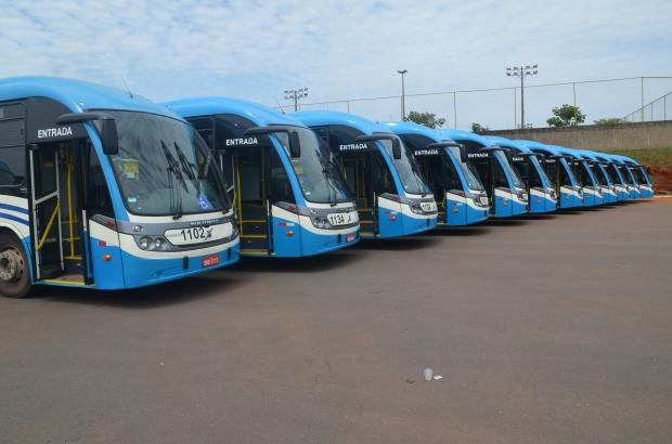 Seis novos ônibus incrementam frota que atua na extensão do Eixo Anhanguera | Foto: Divulgação/MEtrobus