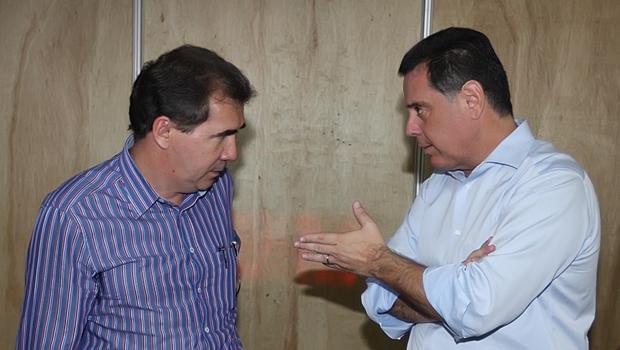 Prefeito João Gomes e o governador Marconi Perillo: relação que vai além da cordialidade   Foto: Henrique Luiz / Goiás Agora