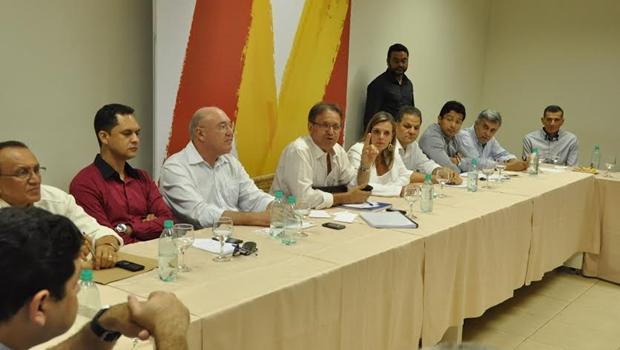 Marcelo Miranda se reúne com equipe de transição   Foto: divulgação