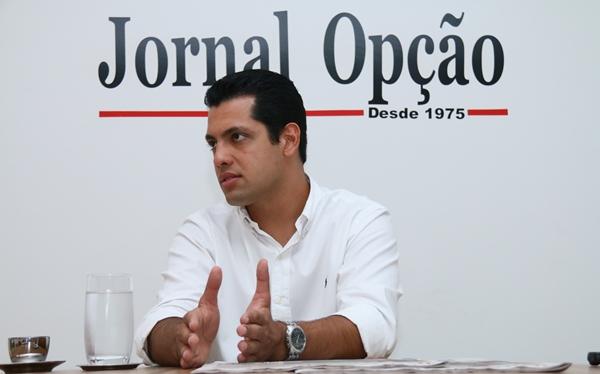 """Vereador tucano garante: """"se chegarmos a um acordo, ao consenso que estamos imaginando, vamos bater a eleição tranquilamente"""" Foto: Fernando Leite   Jornal Opção"""