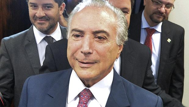 Michel Temer: o vice queixoso quer evitar a criação de novos partidos / Edilson Rodrigues/ Agência Senado