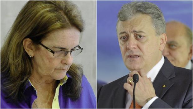 O adeus de Graça Foster da Petrobrás: novo presidente é Aldemir Bendine, homem de confiança de Dilma / Fotos: Tomaz Silva/ABr e  Wilson Dias/