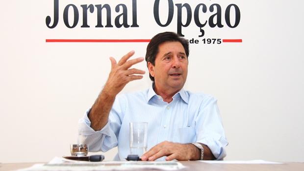 Prefeito de Aparecida de Goiânia e vice-presidente da FNP, Maguito Vilela (PMDB), será o anfitrião do evento | Foto: Fernando Leite / Jornal Opção