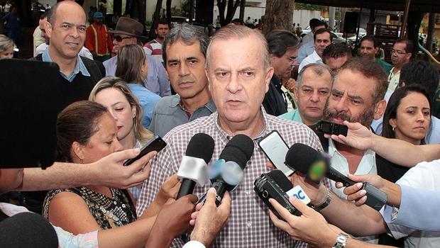 """Para Paulo Garcia necessidade no aumento na tarifa do transporte público em Goiânia era """"clara""""   Foto: Humberto Silva"""