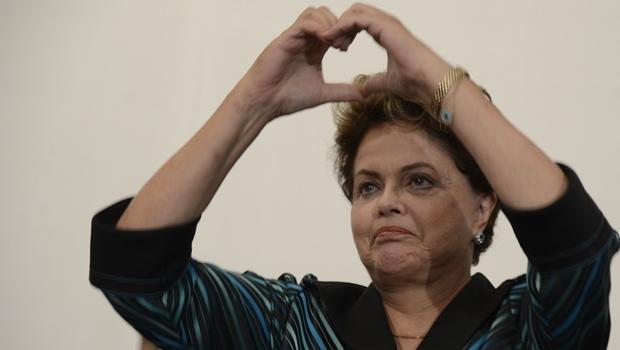 CNT/MDA: hoje, presidente Dilma perderia eleição para o senador Aécio Neves   Foto: Valter Campanato / ABr