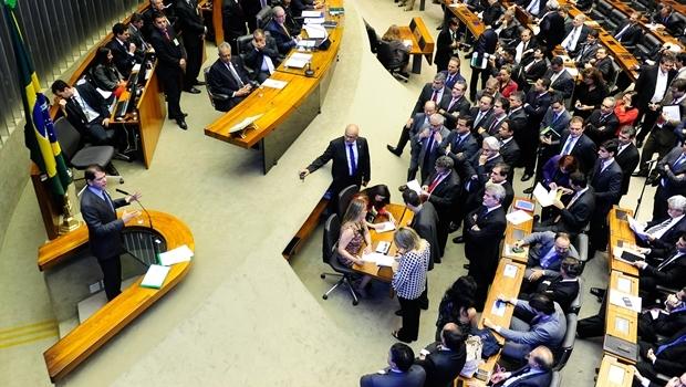 Sessão com Cid Gomes acaba em tumulto | Foto: Gustavo Lima/ Câmara dos Deputados