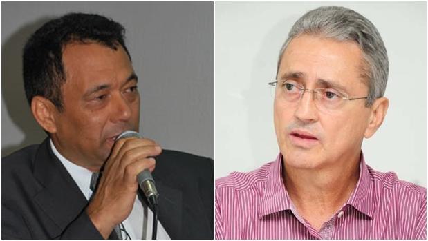 Rixa entre Moura (esquerda) e Ozair divide PT em Aparecida   Fotos: Reprodução/Site da Câmara Municipal de Aparecida e Facebook