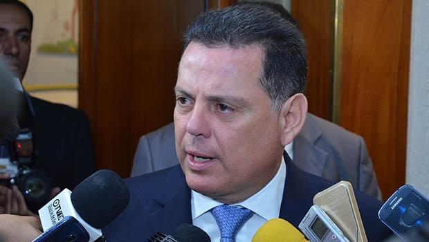 Governador Marconi Perillo diz não temer falta de policiais nas ruas | Foto: Eduardo Ferreira