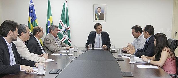 Reunião para instalação da Satus Ager em Luziânia | Foto: Jota Eurípedes /Vice-governadoria