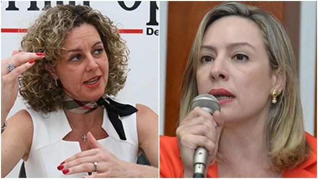 Deputada Adriana Accorsi questionou a indefinição quanto ao pagamento da data-base | Fotos: Fernando Leite / Y. Maeda