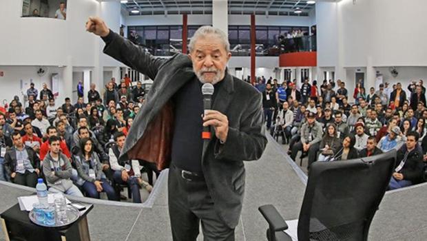 O ex presidente Lula, durante encontro com a Juventude Metalúrgica do ABC Paulista em comemoração aos 56 anos do SMABC (12/5_ | Foto: Ricardo Stuckert