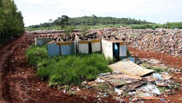 Área que era um lixão a céu aberto e significava risco à saúde das pessoas...