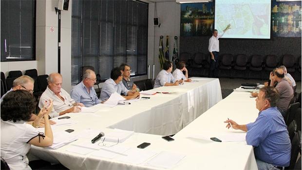 Terceiro encontro da comissão, realizado na última segunda-feira   Foto: Divulgação/Prefeitura de Goiânia