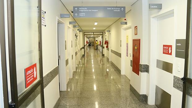 As alas de internação, ortopedia e traumatologia estão em plena operação