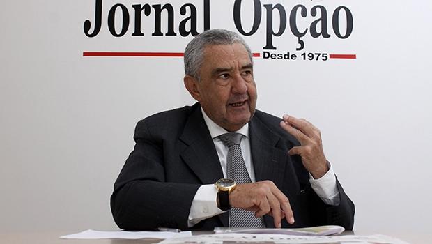 Presidente da Saneago, José Taveira mostra que, com um bom trabalho de gestão, é possível desenvolver o Estado | Foto: Fernando Leite/Jornal Opção