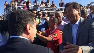Governador Marconi Perillo (PSDB) e prefeito Maguito Vilela | Foto: Facebook/ Siga Marconi