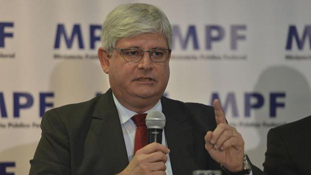 Procrador-geral, Rodrigo Janot, não quis falar com a imprensa sobre as investigações   Foto: José Cruz/Agência Brasil