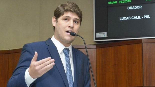 Deputado Lucas Calil | Foto: Carlos Costa