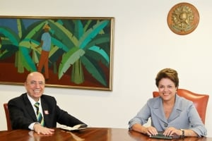 Henrique Meirelles e Dilma Rousseff vão trabalhar juntos? Se depender de Lula da Silva, sim   Foto: Roberto Stuckert Filho/PR