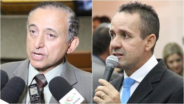 Tucanos Anselmo Pereira (esq) e Geovani Antônio   Alberto Maia/Câmara de Goiânia