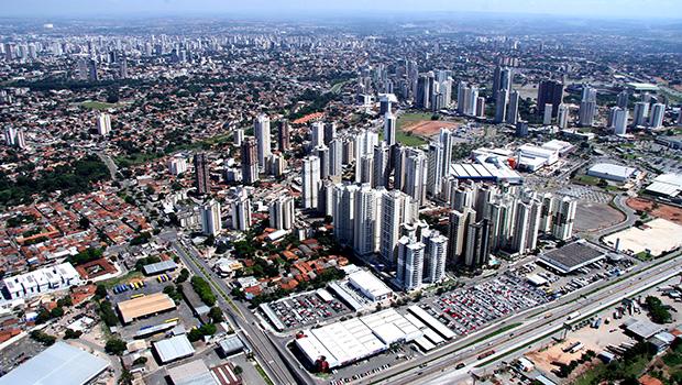Vista aérea de Goiânia | Fernando Leite/Jornal Opção