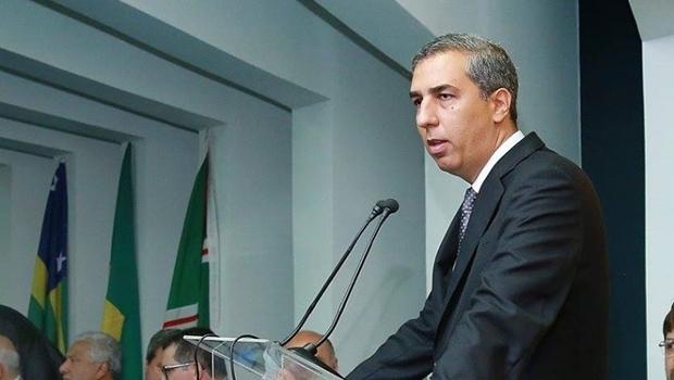 José Eliton durante solenidade de lançamento da nova etapa do Programa Rodovida Manutenção | Foto: Reprodução/Facebook