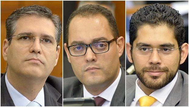 Deputados estaduais Francisco Júnior, Virmondes Cruvinel e Lincoln Tejota não vêm espaço neste momento para aliança eleitoral com o PT para disputar a Prefeitura de Goiânia
